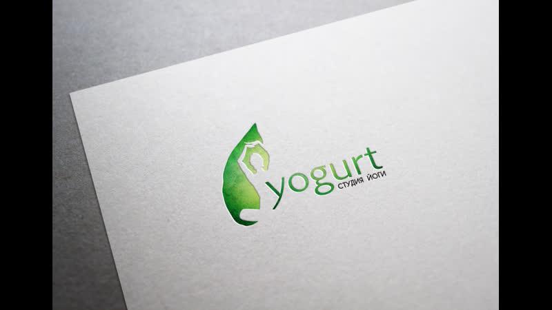 Логотип Yogurt