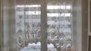 Рулонные шторы Уни 2 Зебра день ночь, с тканью Силуэт розовый, на кухне в СПб, от компании SVIL