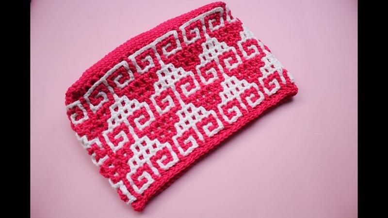 Crochet interocking motif hati part 1|| misyelshin crochet