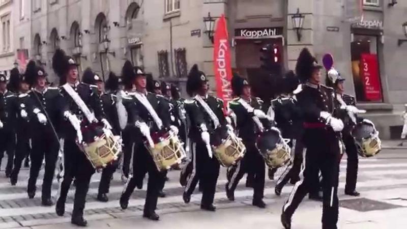 Марш Прощание славянки В Агапкин Королевский оркестр Норвегии