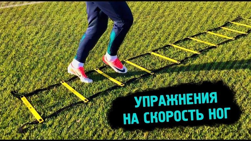 Быстрые Ноги | ТОП 15 Упражнений На Координационной Лестнице