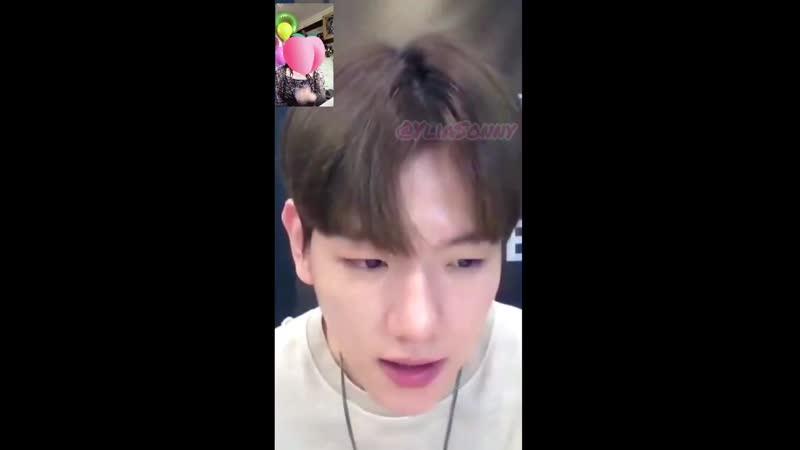 CUT] 200603 `Delight` Video Call Event @ EXOs Baekhyun -- Ghost