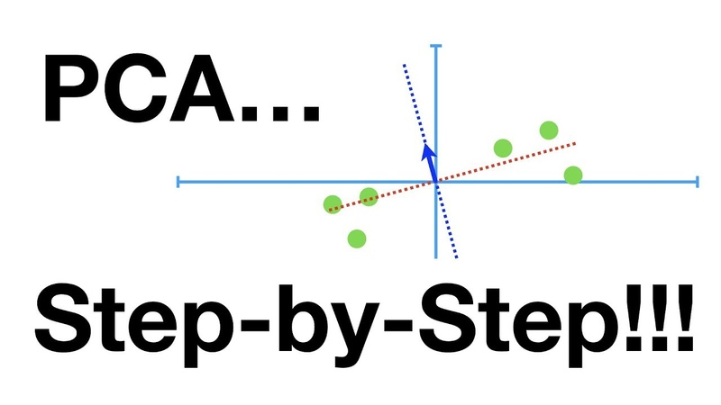 StatQuest Principal Component Analysis PCA Step by Step