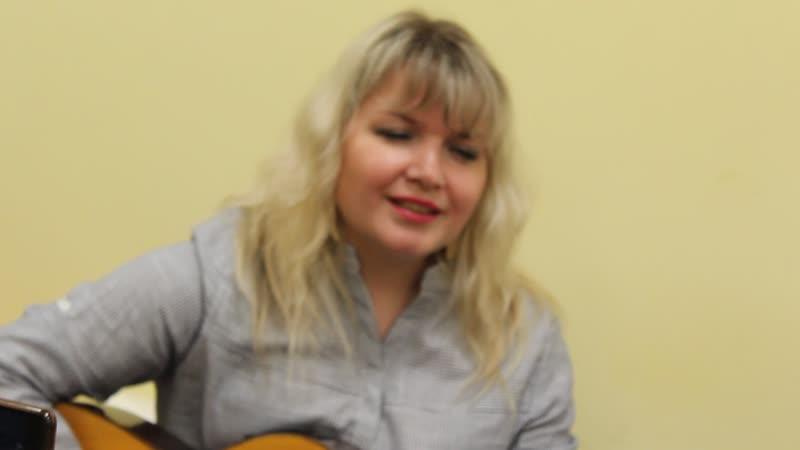 Ольга Крылова на фестивале Отечества священная палитра