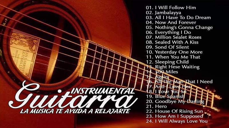 Las Mejores Melodias Instrumentales Guitarra Instrumental Romantica Boleros