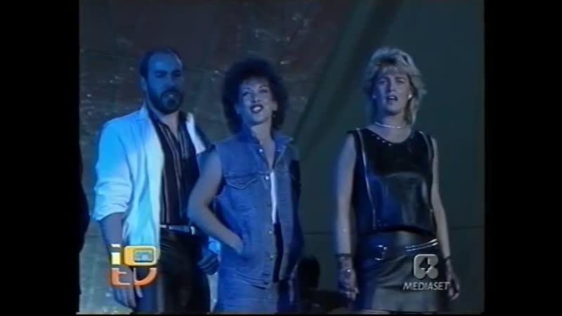 WALL STREET CRASH You Don't Have To Say You Love Me Io Che Non Vivo Senza Te 1983