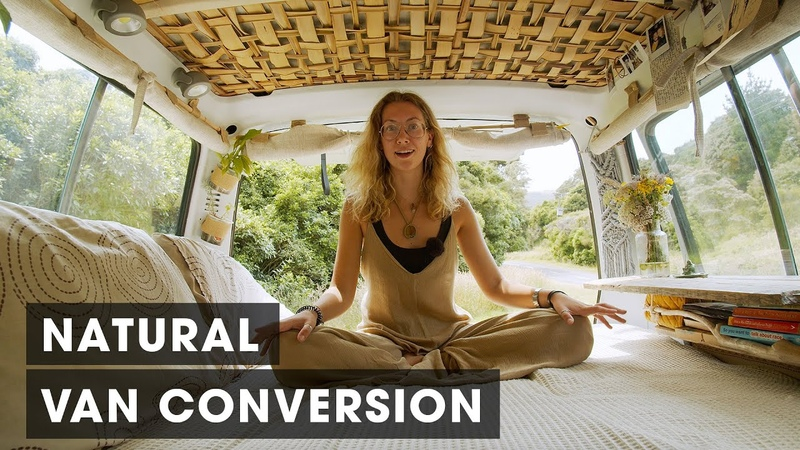 Beautifully Rustic Permaculture Campervan Conversion (Van Tour)