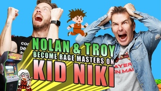 Nolan North and Troy Baker Become Rage Masters on Kid Nikki