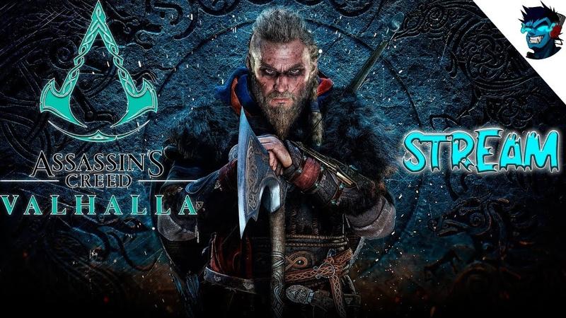 Assassin's Creed Valhalla Вальгалла 🎮Прохождение PC Часть 1 СЫНЫ ВОРОНА