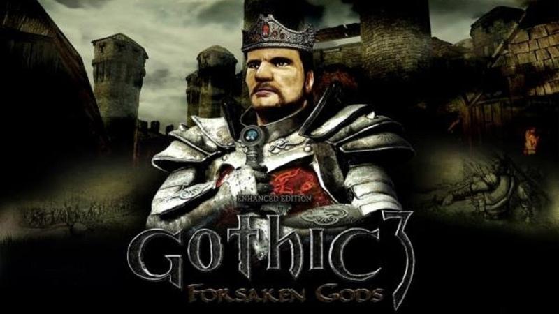 Gothic 3 отвергнутые боги изучаем как изменилась миртана в аддоне