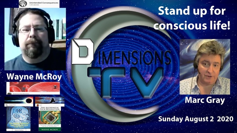 Wayne McRoy Stand up for your rights to live CoronaX Files on DTV