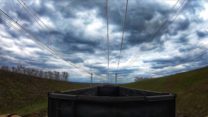 На грузовых поездах в Сочи Поворот Туда (3)