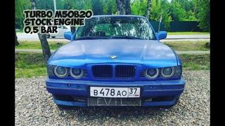 Stock engine Е34 M50B20 TURBO ???HP