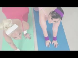 121 ife and Sister Yoga    Anal porn Анал Анальное порно BBW