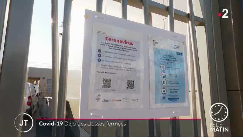 Coronavirus-Après les premières récoltes de nos vieux, voici venu le temps de la récolte de vos enfants.Tu pige toujours rien