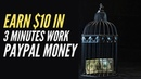 Make $10 In 3 Minutes Work, Copy Paste Jobs Home Based Work, Free PayPal Money