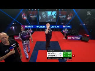 Peter Wright vs Glen Durrant (PDC World Matchplay 2020 / Round 2)