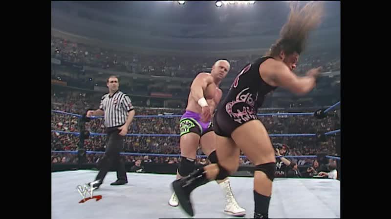 WWF SmackDown 12 04 2001 Hardcore Holly vs Rhyno