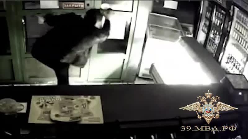 С поличным задержаны двое калининградцев проникшие в магазин с целью кражи
