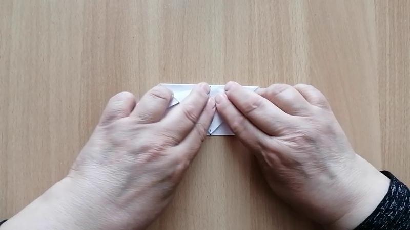 Урок педагога творческого объединения Мастерская оригамиста Перетятько И С Бабочка