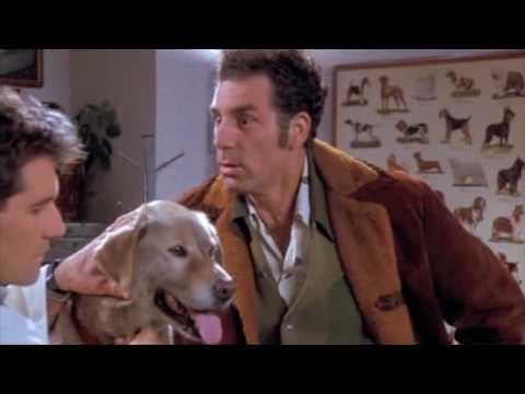 Seinfeld Kramer takes dog medicine