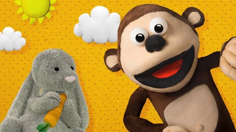 A Dormir mi Conejito Mono Bubba y sus Amigos