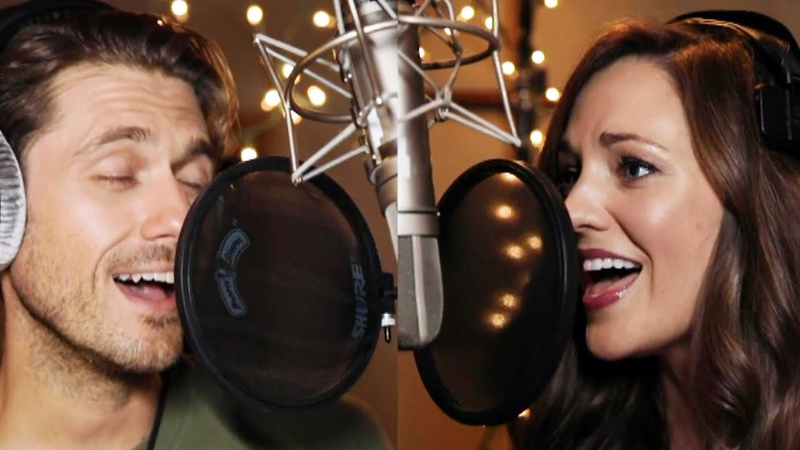 Laura Osnes and Aaron Tveit Sing 'Winter Wonderland' in Hallmark's 'One Royal Holiday' Music Video