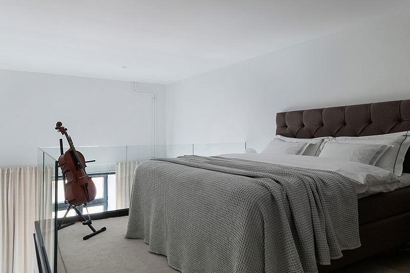 Элегантное оформление небольшого лофт-пространства в Стокгольме (56 кв.