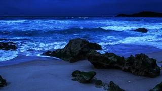 Fall Easily Asleep On The Beach - Regain Your Energy Overnight, Sleeping With Ocean Sounds of Waves