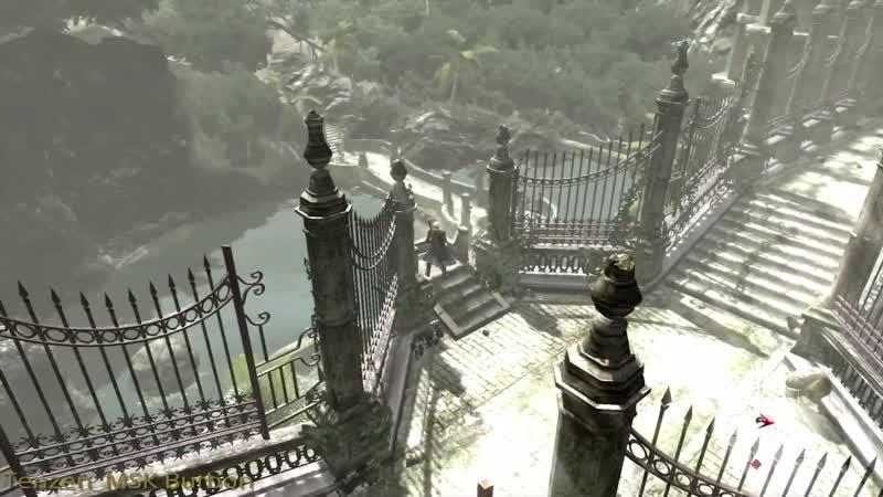 Devil May Cry 4 Прохождение головоломка в лесу и Босс ангел.Часть6