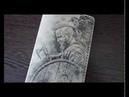 Видео обзор. ВИКИНГ - Обложка для паспорта.