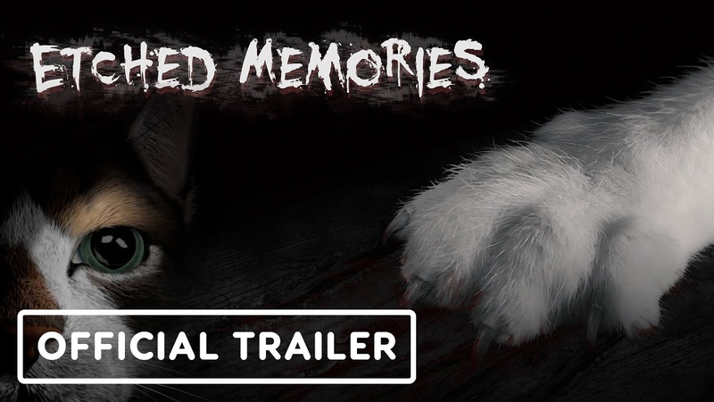 Etched Memories - Play as Biscuit the Cat in This Bizarre Horror Game