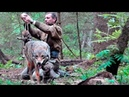 This man saved a mother wolf and her pups and for years later the pack found him…