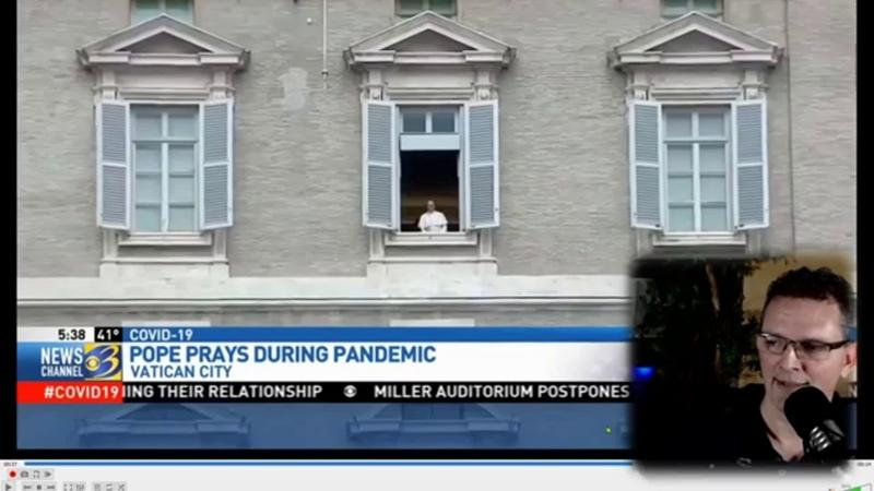Hologram Papieża Franciszka wyłączony za wcześnie - czy jesteśmy okłamywani Wersja rozszerzona